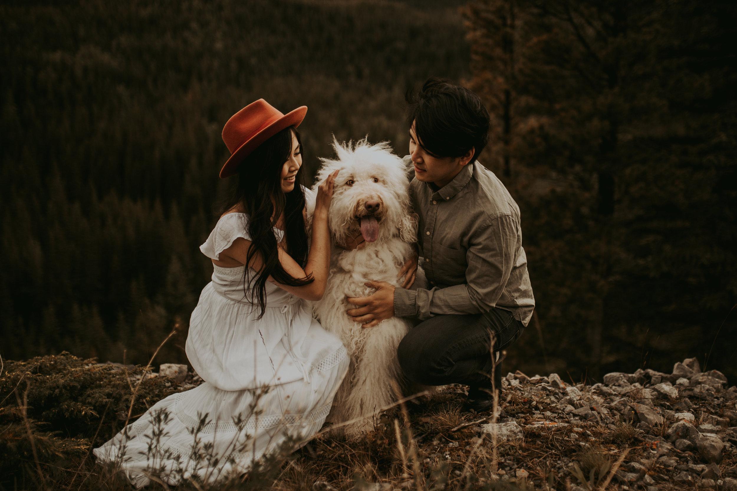 banff engagement session, Banff photographer