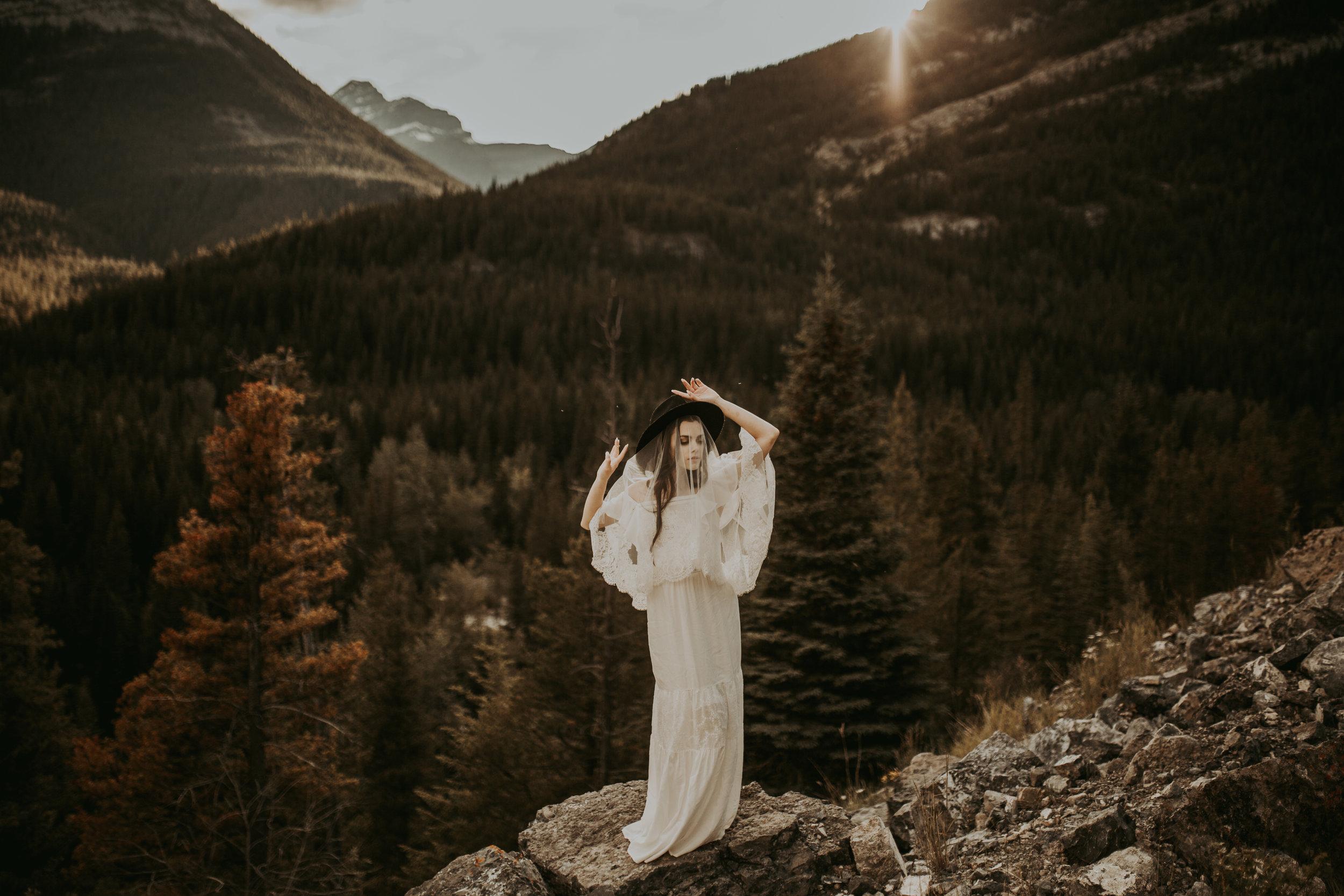 Emerald Lake Elopement, Emerald Lake Lodge Photographer, Banff Elopement Photographer, Banff Photographer, Banff Elopement