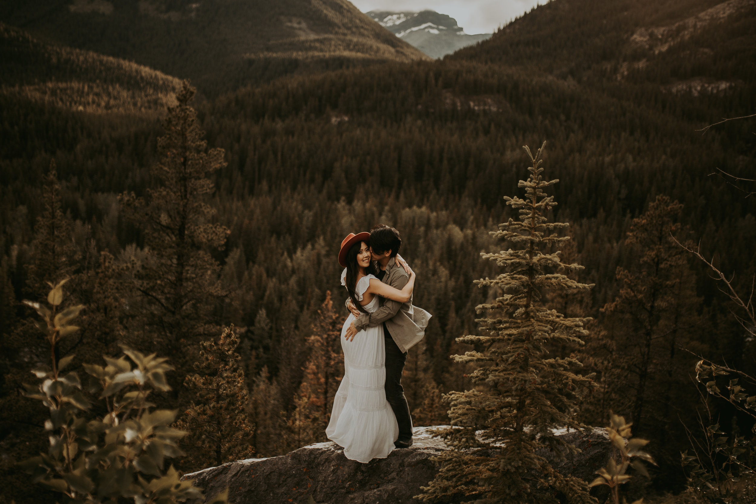 Banff Engagement session, Banff photographer, Banff elopement, Banff Photography, Italy Elopement