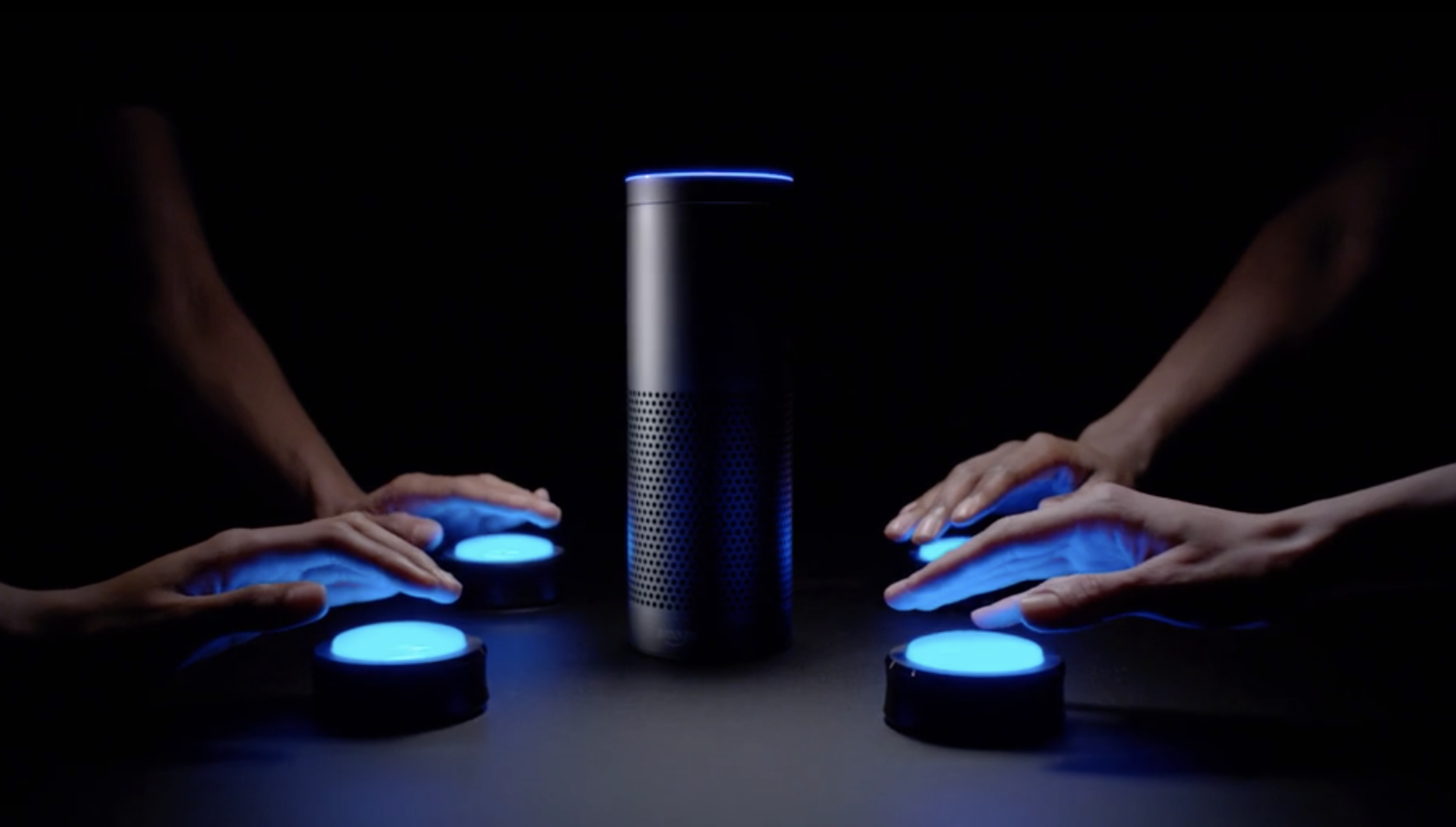 [fade]Gaming With Alexa<strong>Amazon</strong>[/fade]