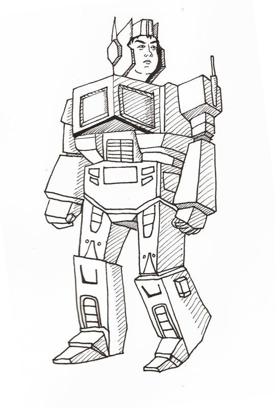 Eitan as a Robot