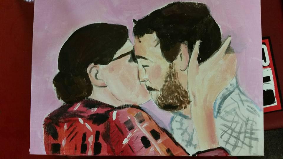 Eitan Kisses a Woman Named Jenn