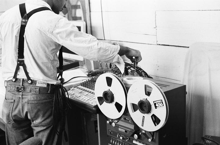 Recording the first E.P. - Sonoma, California
