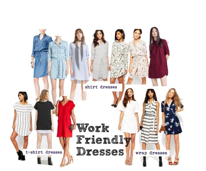 ONLINE SHOPPING: WORK DRESSES