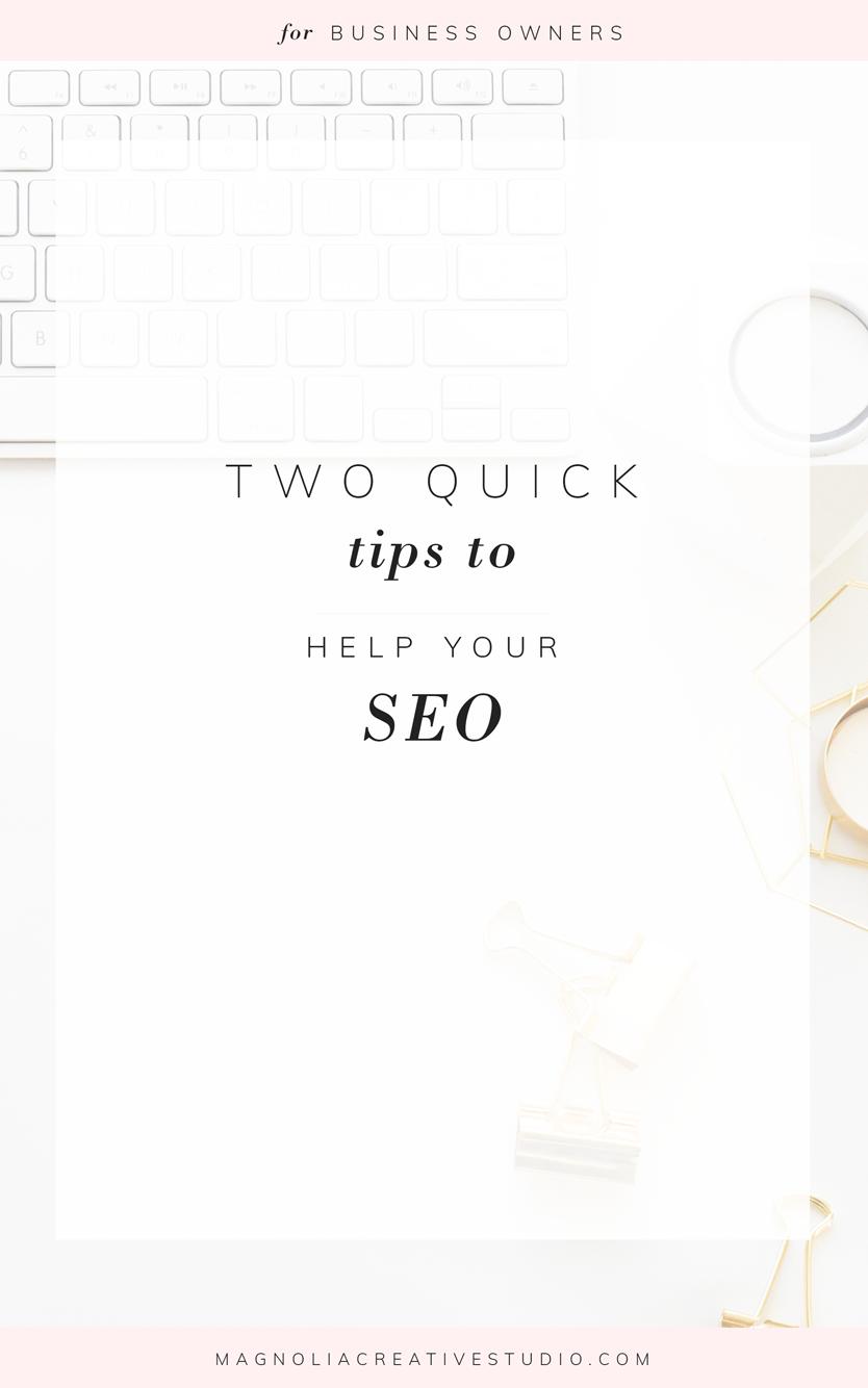 SEO Tips from Magnolia Creative Studio