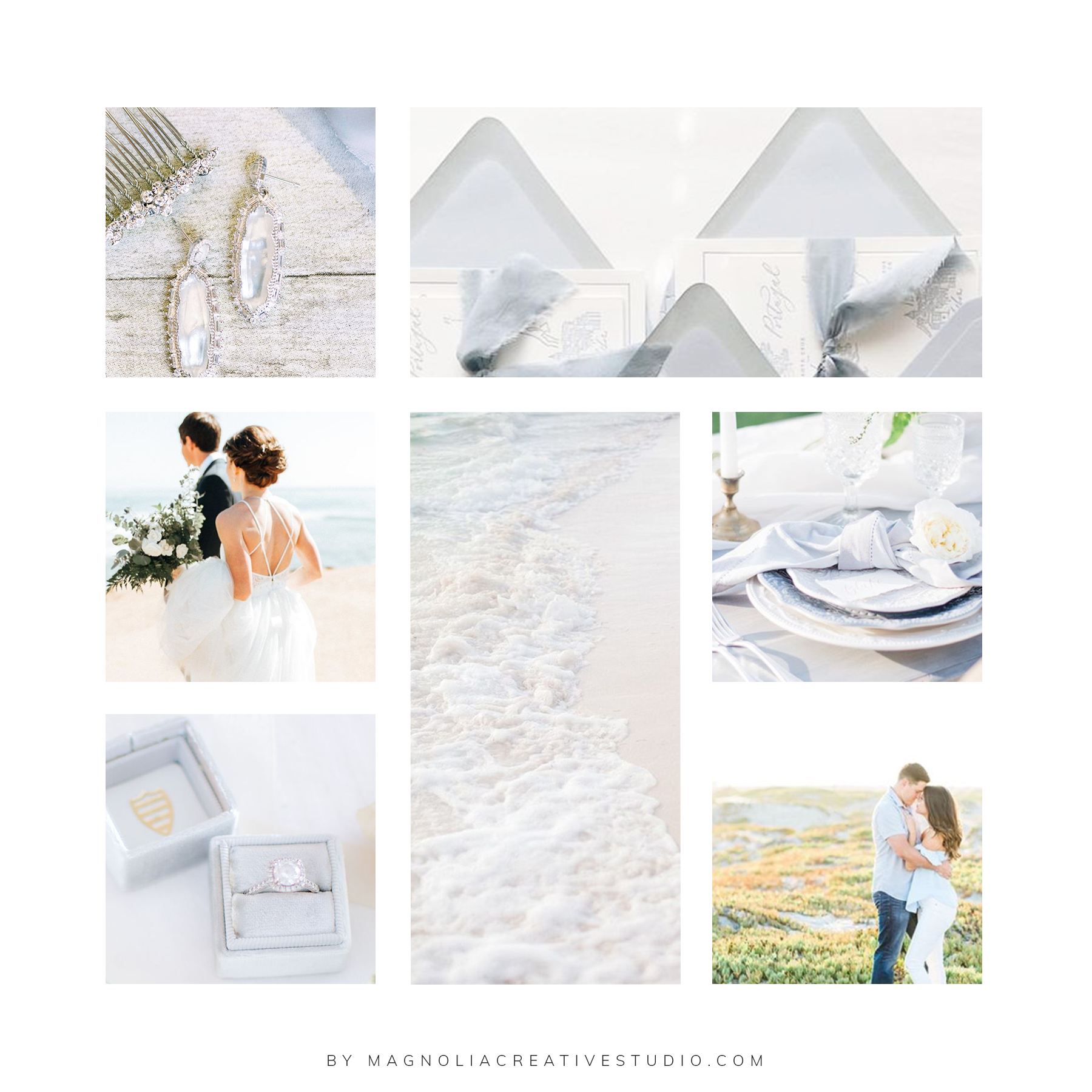 Moodboard for Timeless Event Planning- by Magnolia Creative Studio