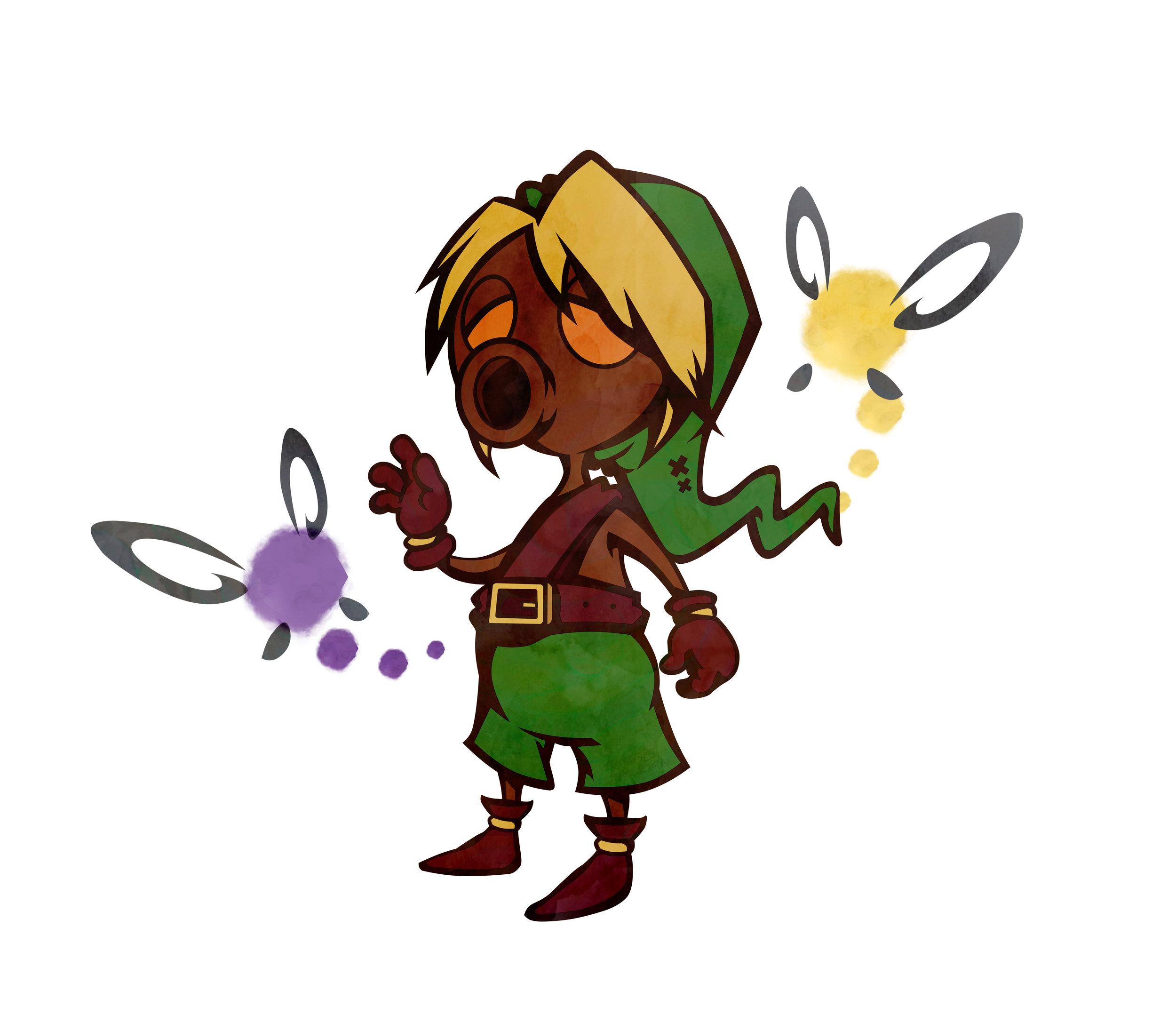 Deku Link (Legend of Zelda)  / Digital / 2016