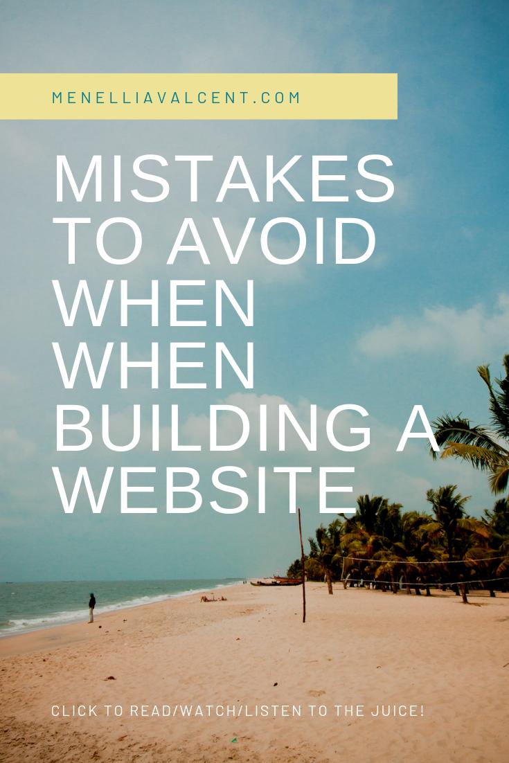 Mistakes New Entrepreneurs & Coaches Make When Building A Website #seo #website #business #branding #girlboss.png