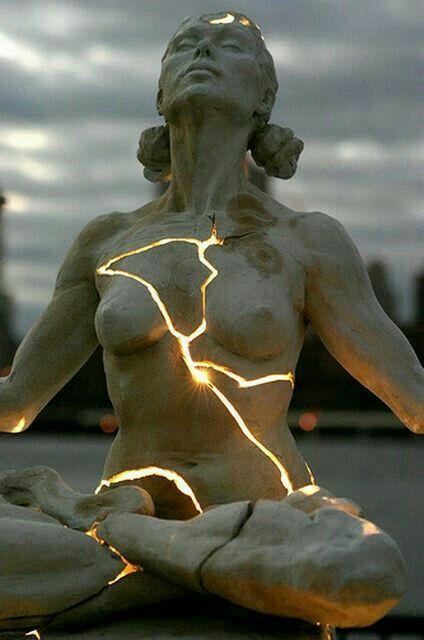 sculpture by Paige Bradley