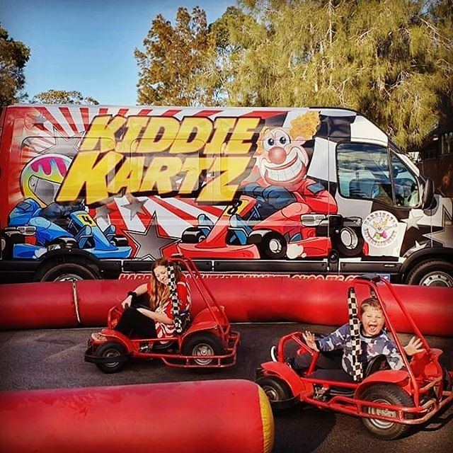 New look for the Kiddie Kartz, bring on the school holidays!!