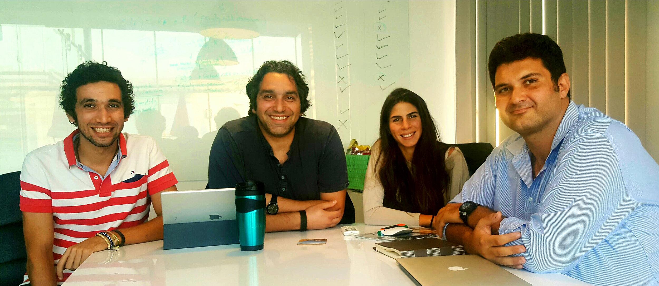 The Tayebat Workers Village Design Team: Mahmoud Radwan, Karim El Kafrawi, Nadine Abulfadl, Mostafa Ascar. Courtesy KarmSolar.
