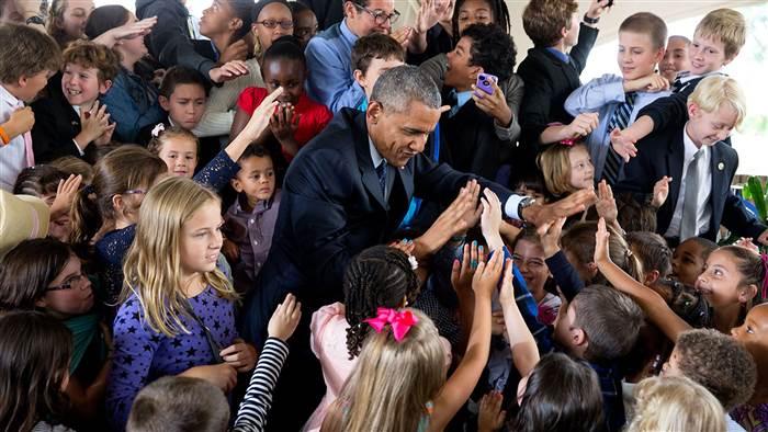Photo by Pete Souza /The White House