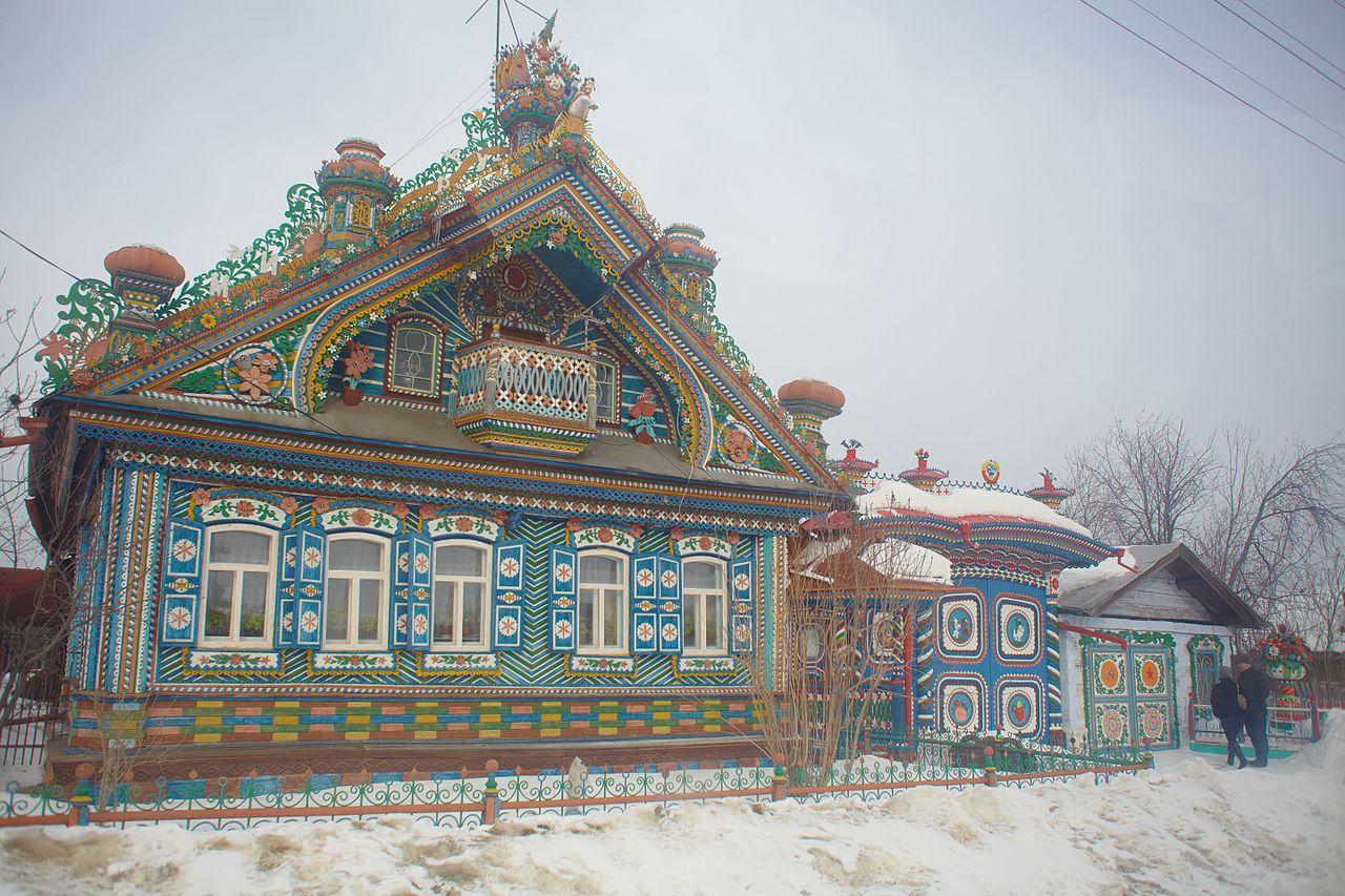 Kirillov'shouse. Image by  Zhuravlik via Wikimedia Commons