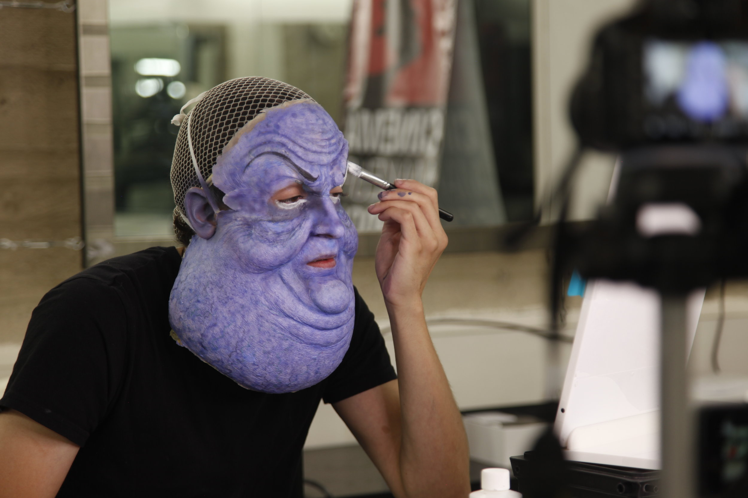 How A Special Effects Makeup Artist