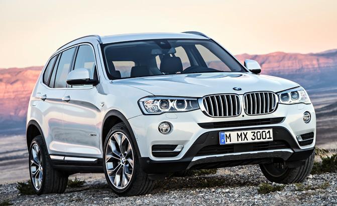 Current model X3 via BMW