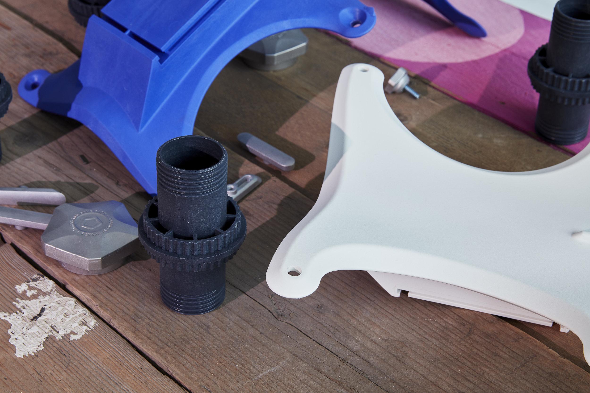 Airtool parts, dissected. Image courtesy of Pentatonic