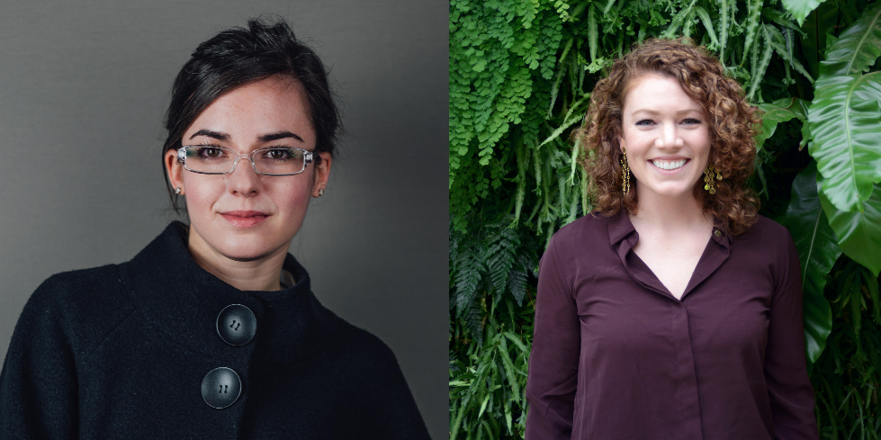 Lia founders Bethany Edwards (left) and Anna Couturier Simpson. Images courtesy of Lia Diagnostics
