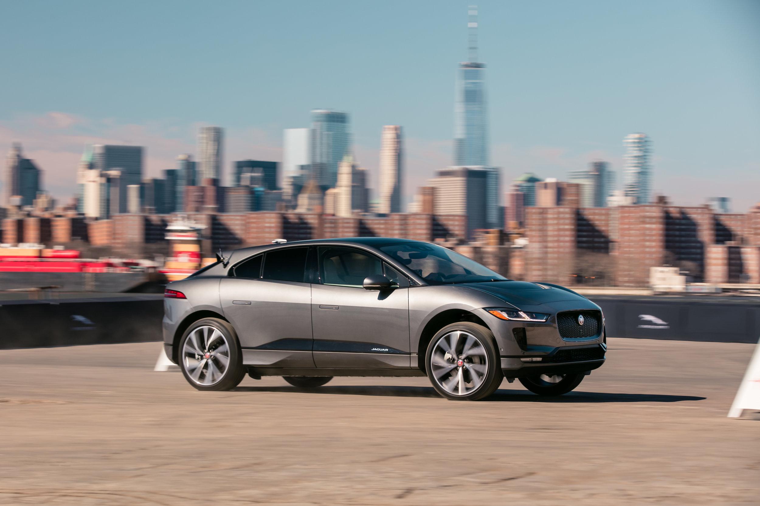 I-pace via Jaguar