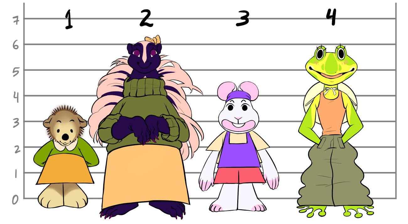 Boss character designs