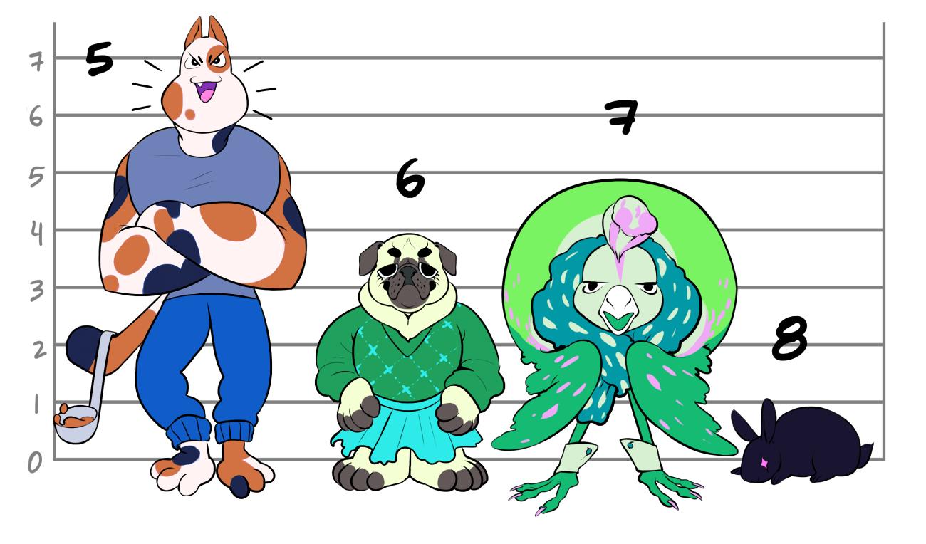 Boss character designs 2