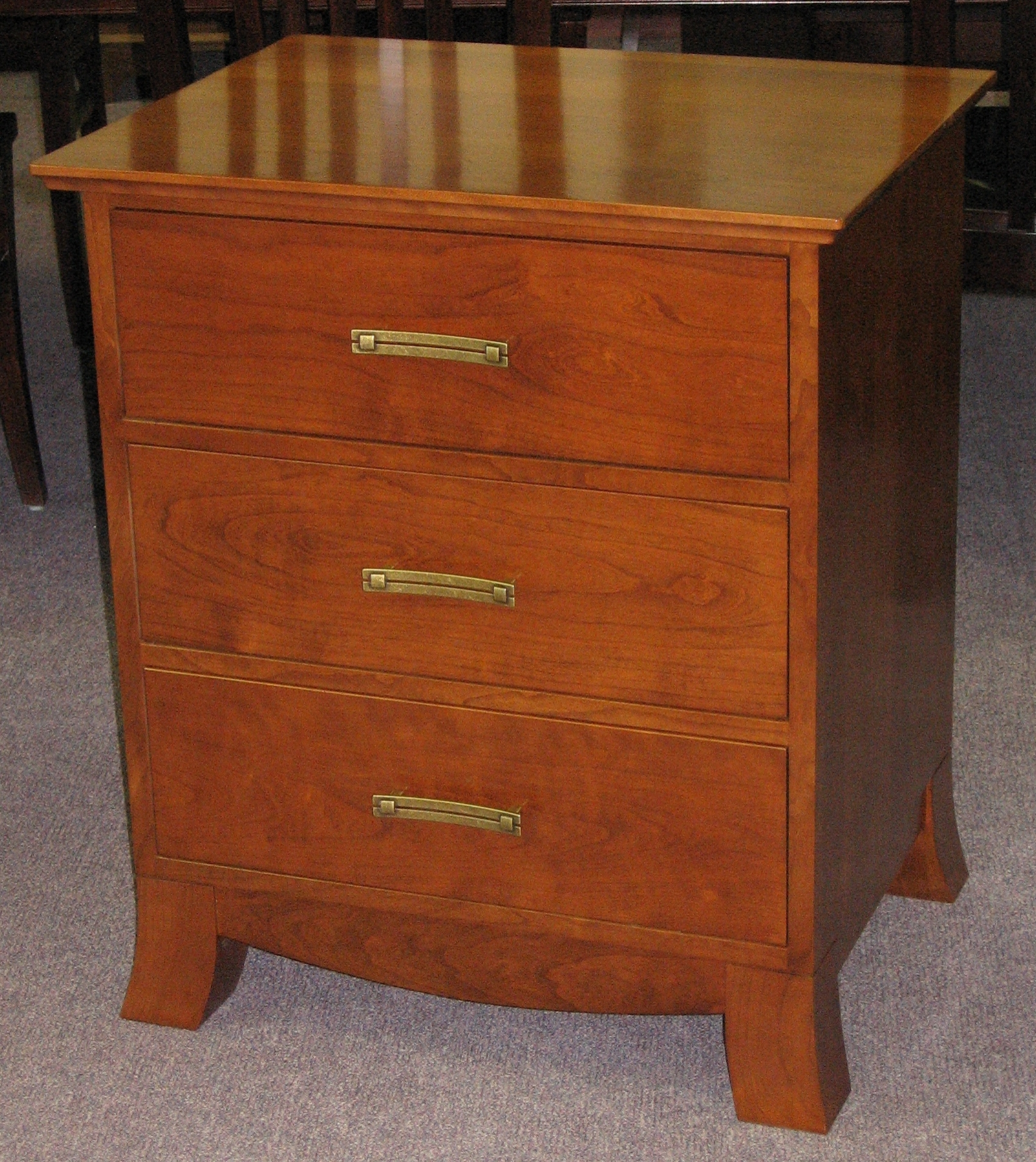 arts-and-craft-style-cherry-wood-two-drawer-nightstand.JPG