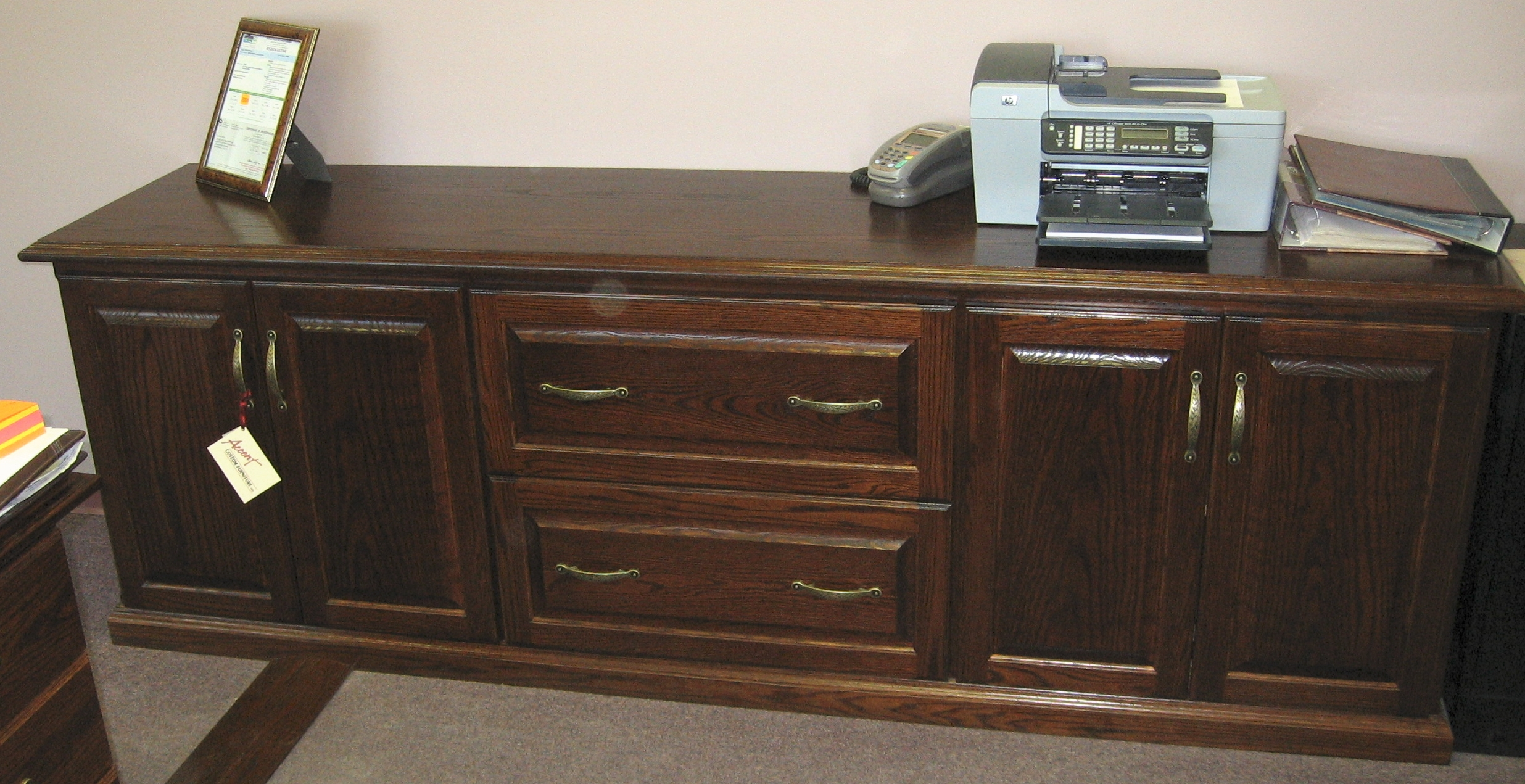 traditional-style-double-file-drawer-oak-credenza.jpg
