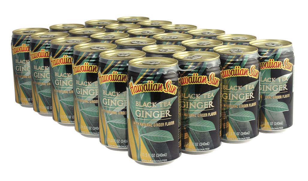 BLACK TEA GINGER