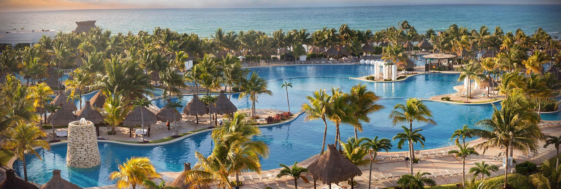 Grand Mayan Resort - Riviera Maya, Mexico has one of the largest swimming pools in Latin America