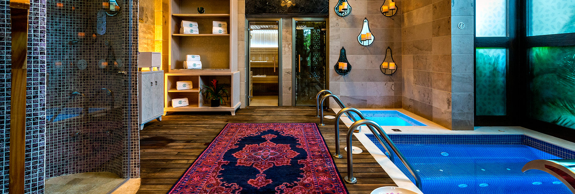 Renew your spirit and revitalize your senses at the Brio Spa - Just one of the spa rooms you can enjoy at your Mermaids Journey Retreat