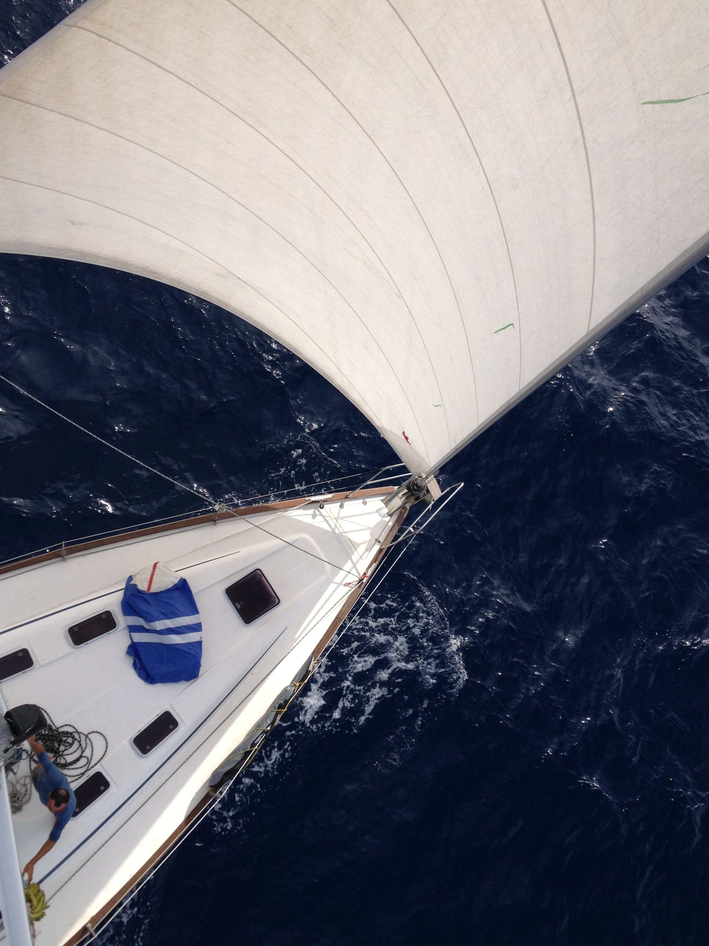 bow from the mast