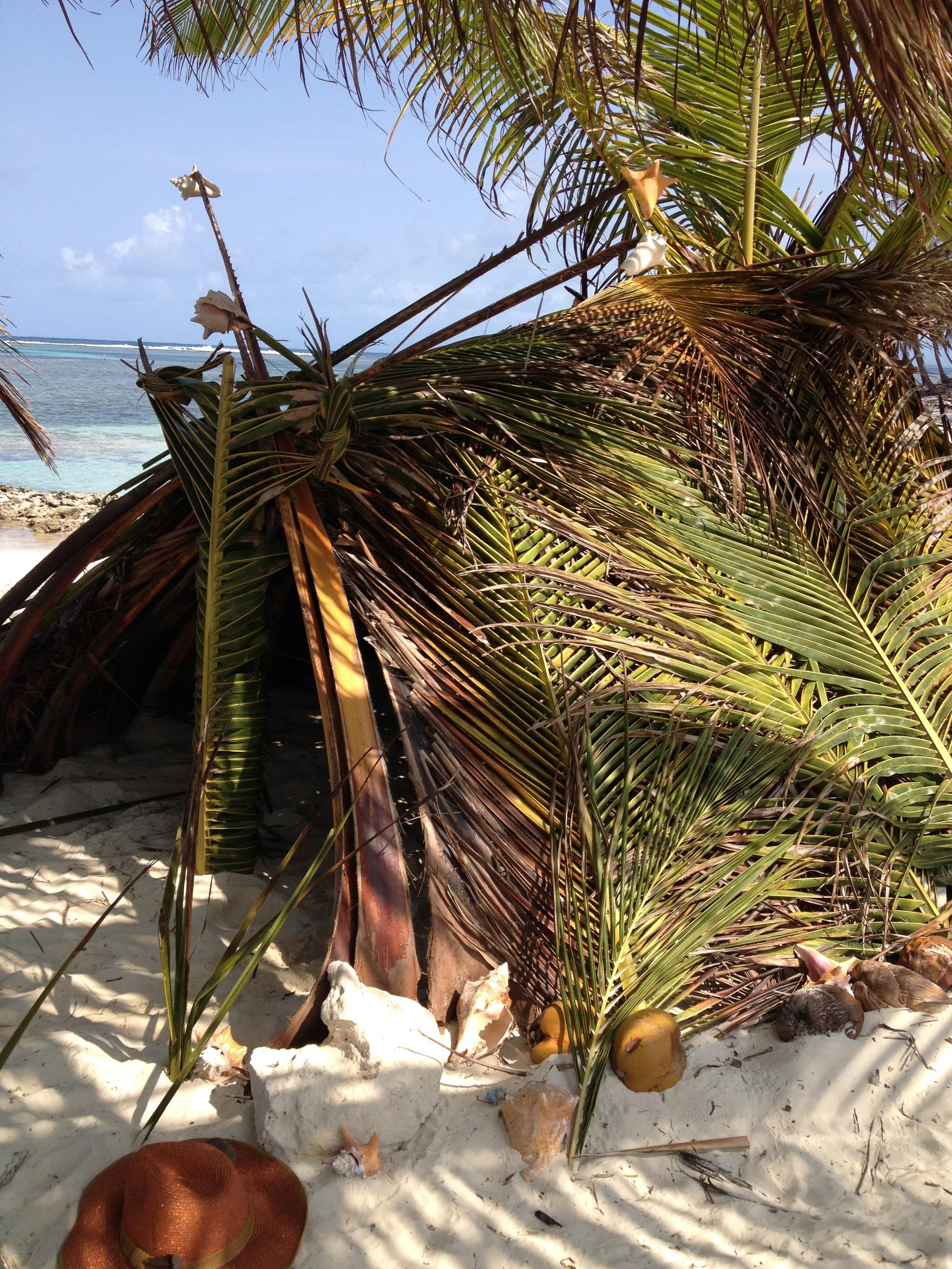 hut outside angle