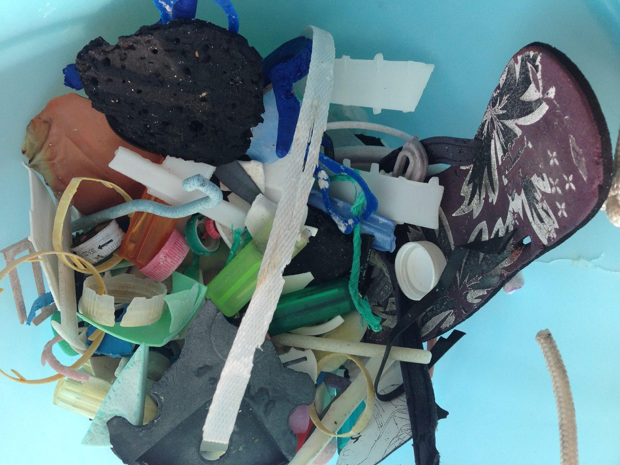 Suwarrow marine plastic