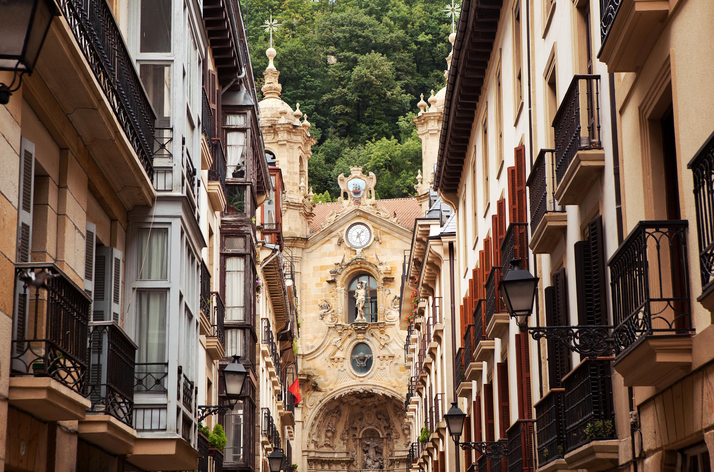 San Sebastian - Old town