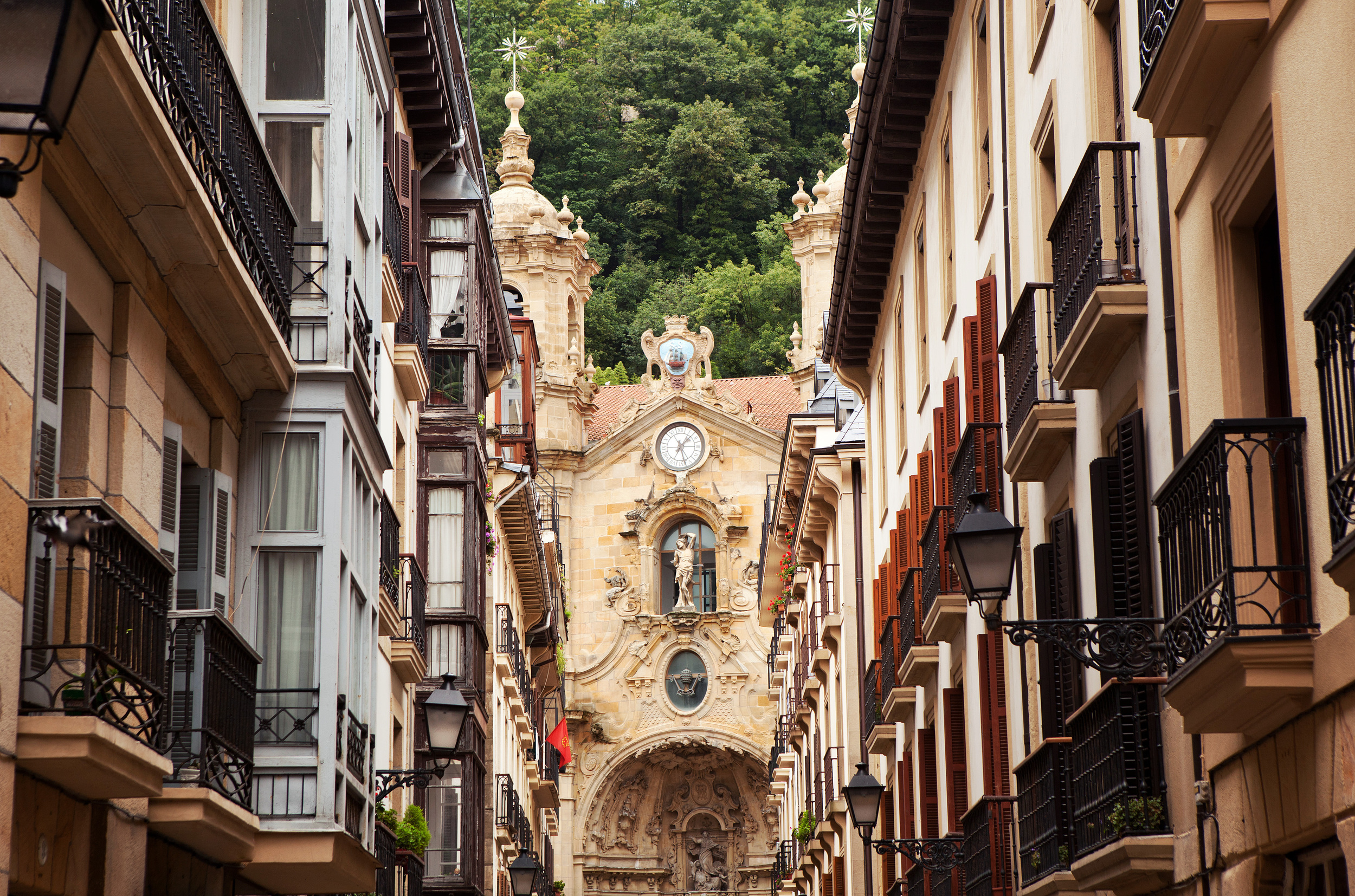 Basque Country - San Sebastian - Church in old town.jpg