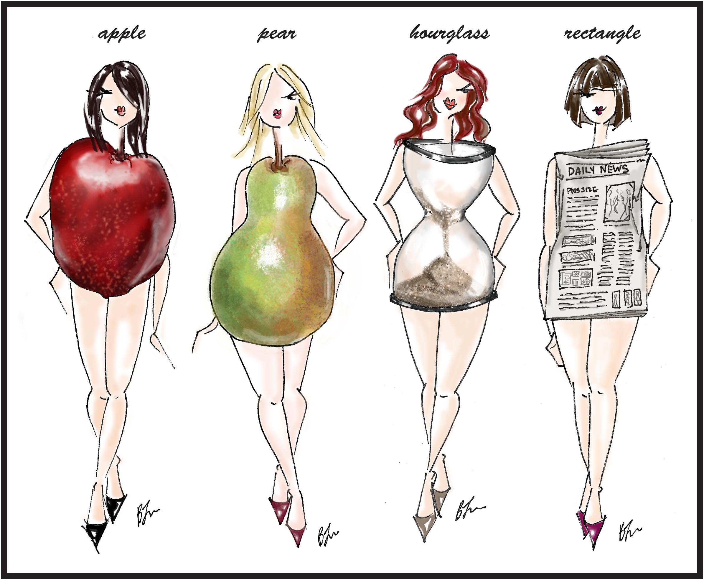 Take a look at the sketch....which one do you identify with?