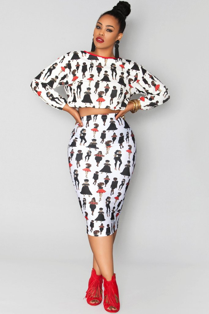 Black Girls Rock, and Rue 107 knows it! This exclusive print showcases women of all sizes and shapes. I freakin love it.