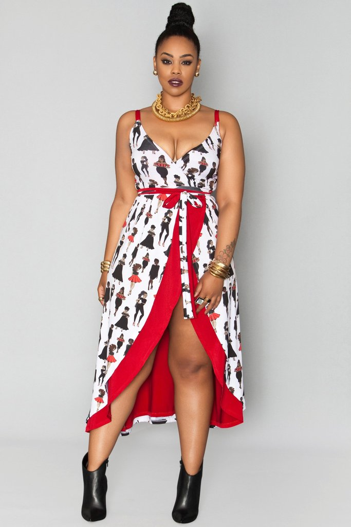 Sexy wrap dress for a night out salsa dancing? Just me? Oh.....
