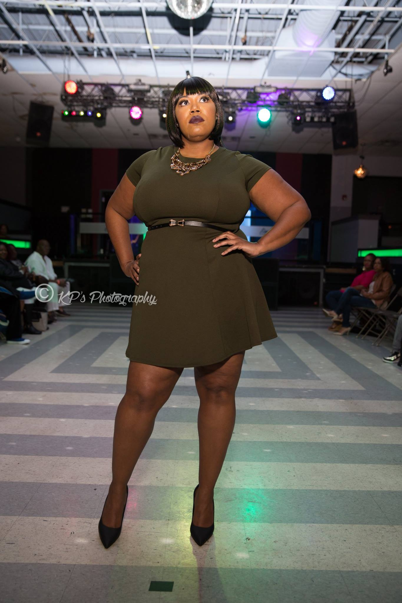 S/O to Kenneth Parks of KP's Photography for taking these amazing pictures of the curvy models working the catwalk. Check out more from him on his page  here .