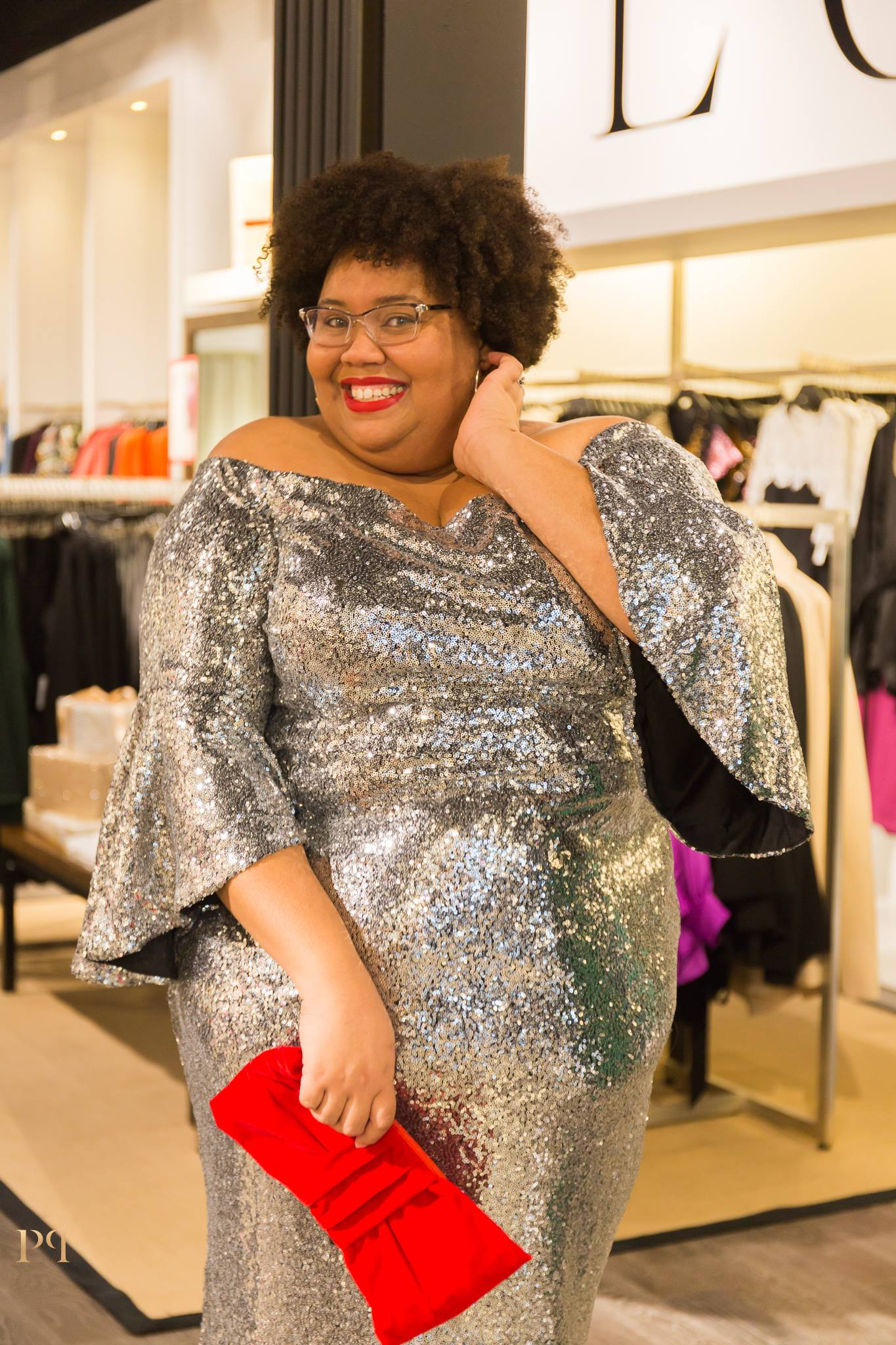 The face you make when you realize you look banging in this dress and it comes in 3 colors....my poor wallet. Photo cred: Tashia Harris