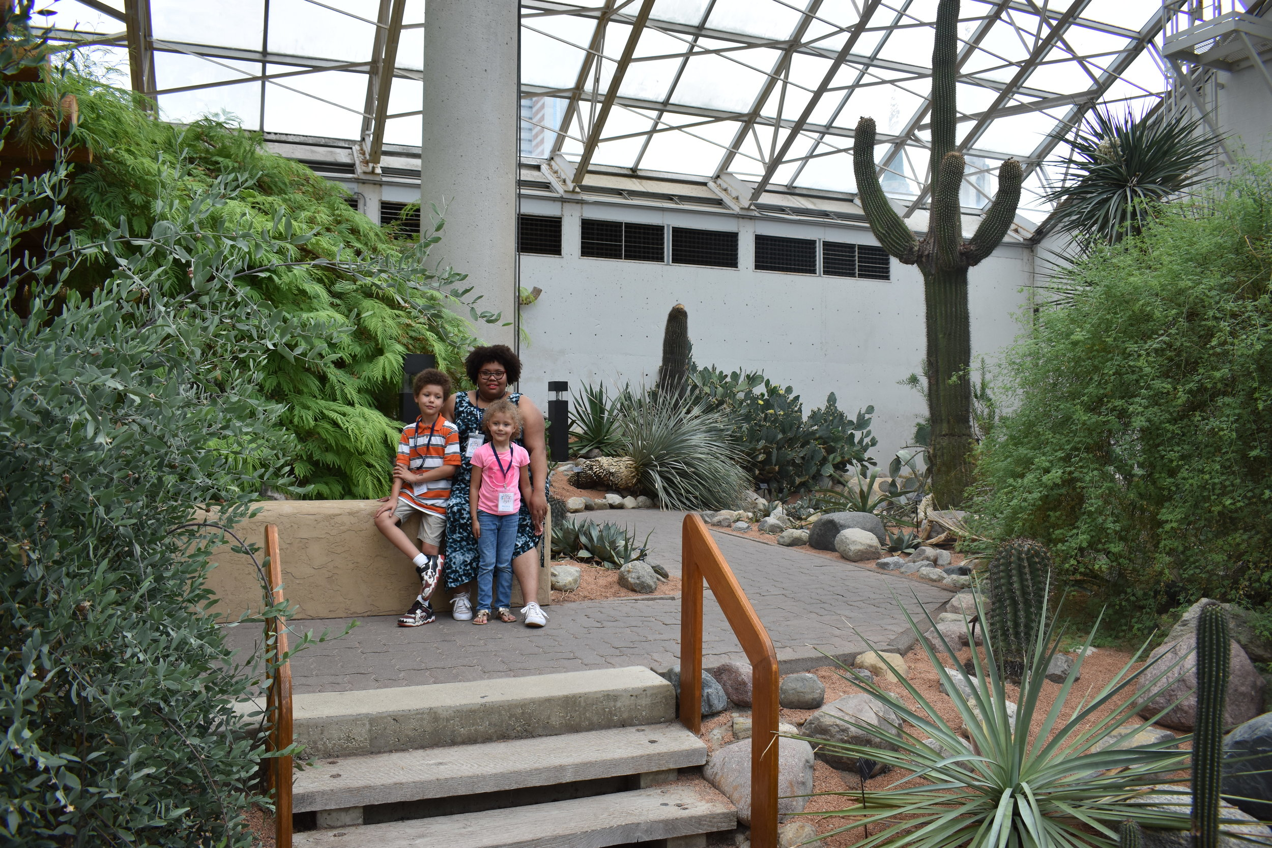 Botanical Conservatory Desert Garden in Fort Wayne