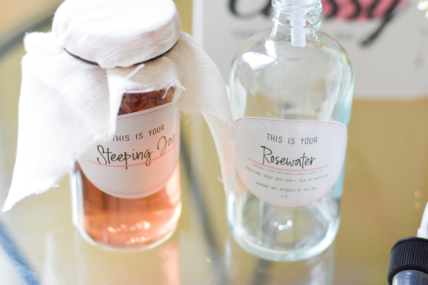 Steeping Process with Make It Classy DIY