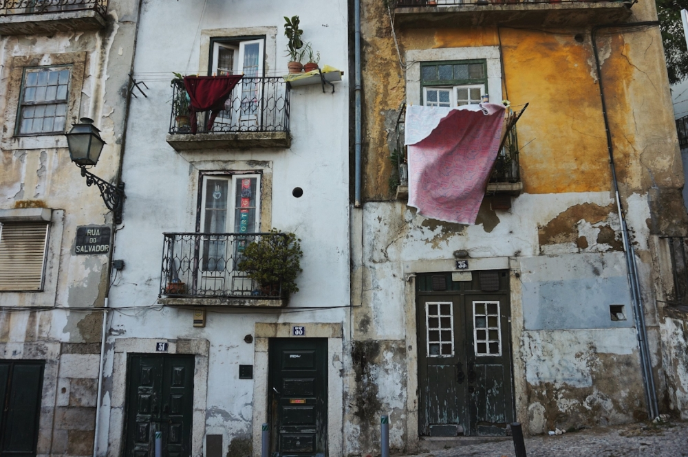 Alfama District - the oldest district in Lisbon.