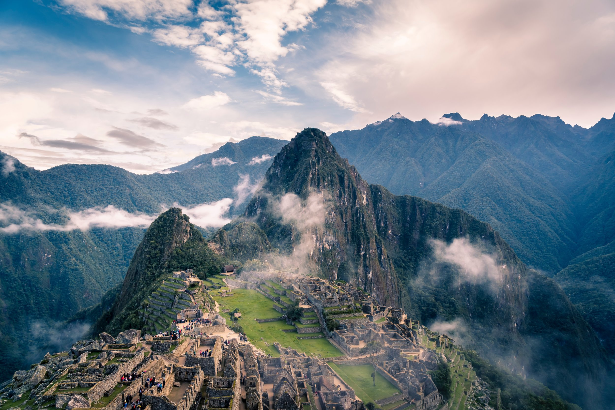 The Amazon rainforest, ancient ruins, Machu Picchu and more.
