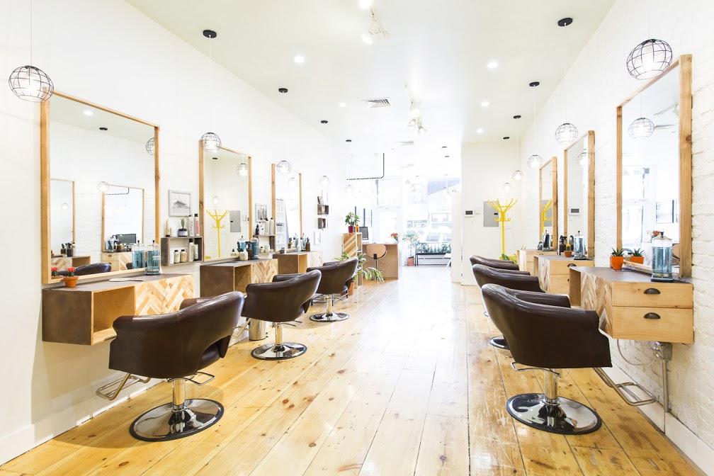 Triple Crown Salon, best hair salon for hair cuts and hair color in Brooklyn New York Davines Hair color