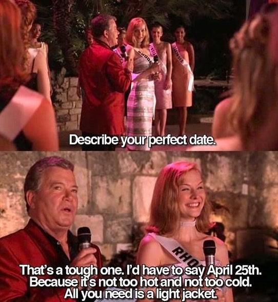 Happy April 25th, friends!