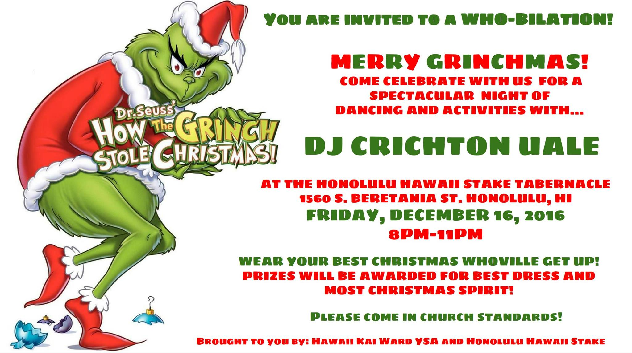 Christmas Event in Honolulu, Hawaii
