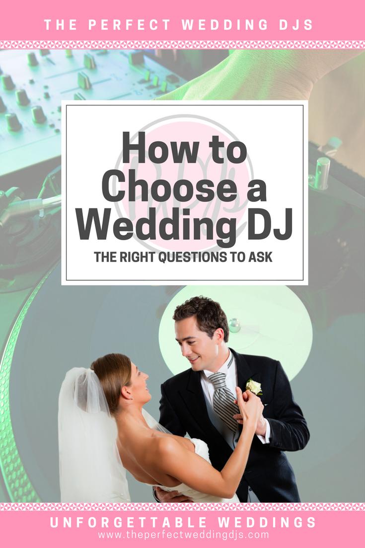 The Perfect Wedding DJs - Finding a DJ