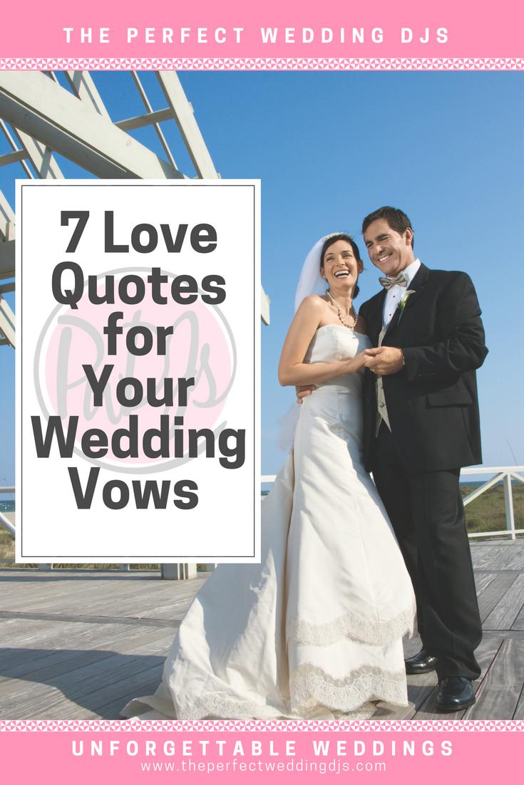 Wedding Vows - Perfect Wedding DJs