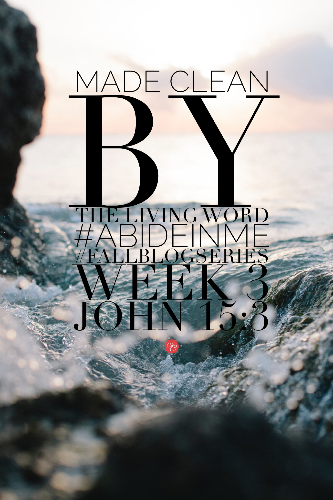Made Clean by Living the Word: John 15:3