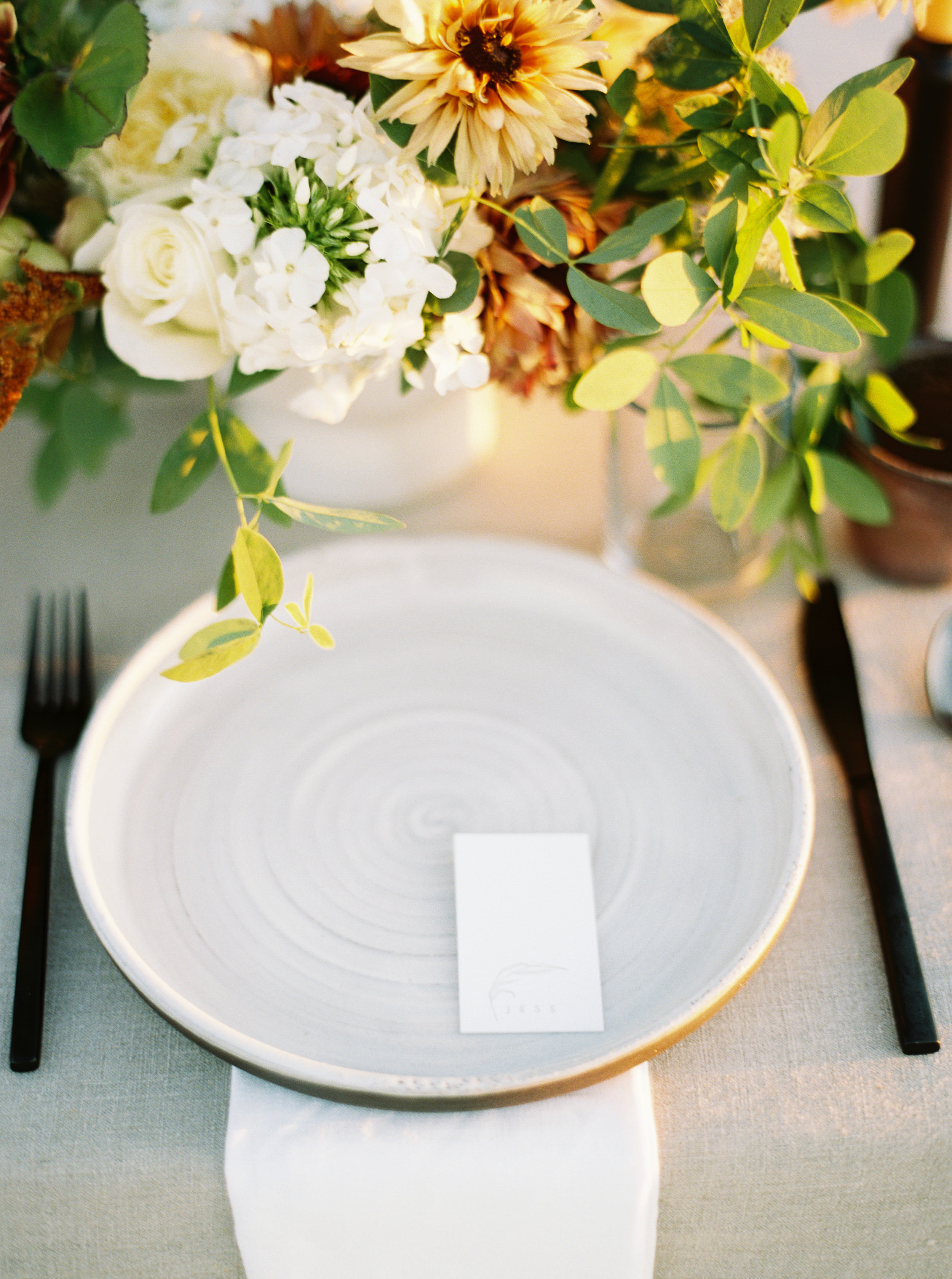 Late Summer / Early Fall Tablescape